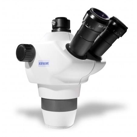 SCIENSCOPE NZ Stereo Zoom Trinocular Microscope Body NZ-BD-T3