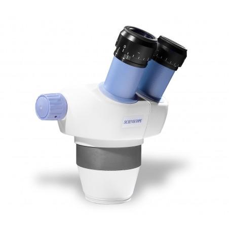 SCIENSCOPE ELZ Stereo Zoom Binocular Microscope Body ELZ-BD-B2