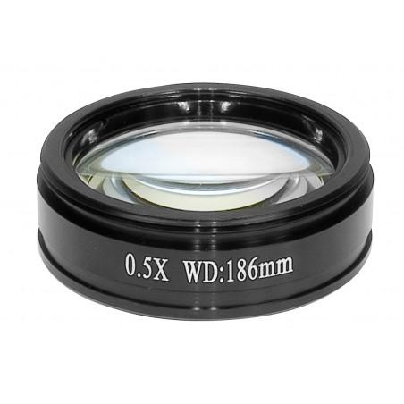 SCIENSCOPE E-Series Objective Lens (0.5X)