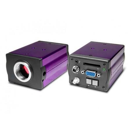 SCIENSCOPE CC-WSXGA-CD1 Widescreen Camera w/Remote & Image Capture