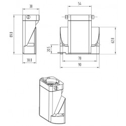 SCIENSCOPE SSZ Binocular to Trinocular Converter SZ-BD-B2T