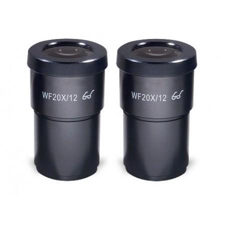 SCIENSCOPE EM-LE-W20 SSZ Eyepieces (20X) - Pair