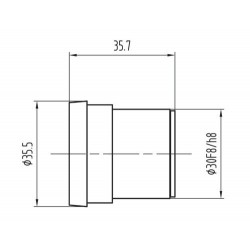 SCIENSCOPE SSZ Eyepieces (15X) - Pair