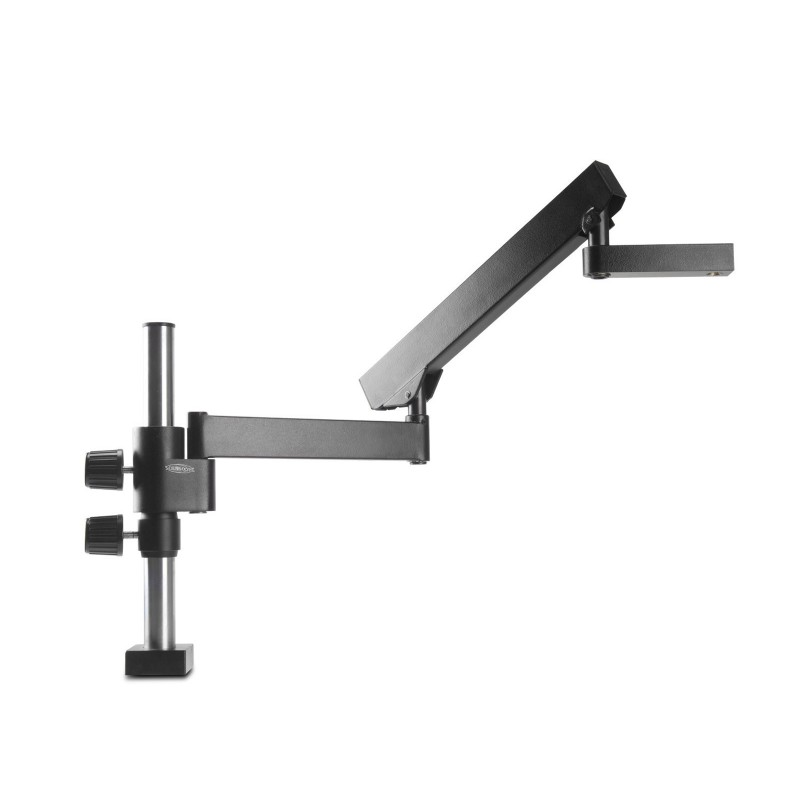 SCIENSCOPE Heavy Duty Articulating Arm on Bolt Down Base - SB-TM2-FX