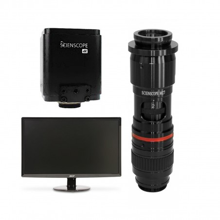 SCIENSCOPE 4K Micro Bundle with Monitor