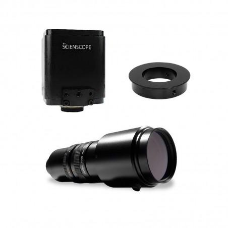 AutoFocus camera and Macro lens bundle