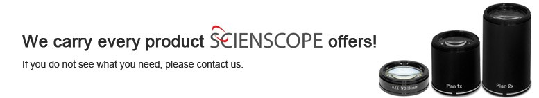 We carry every product Scienscope offers. If you do not see something, contact us!